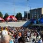 .. where Ikea is watching the 1st Tallinn Marathon!